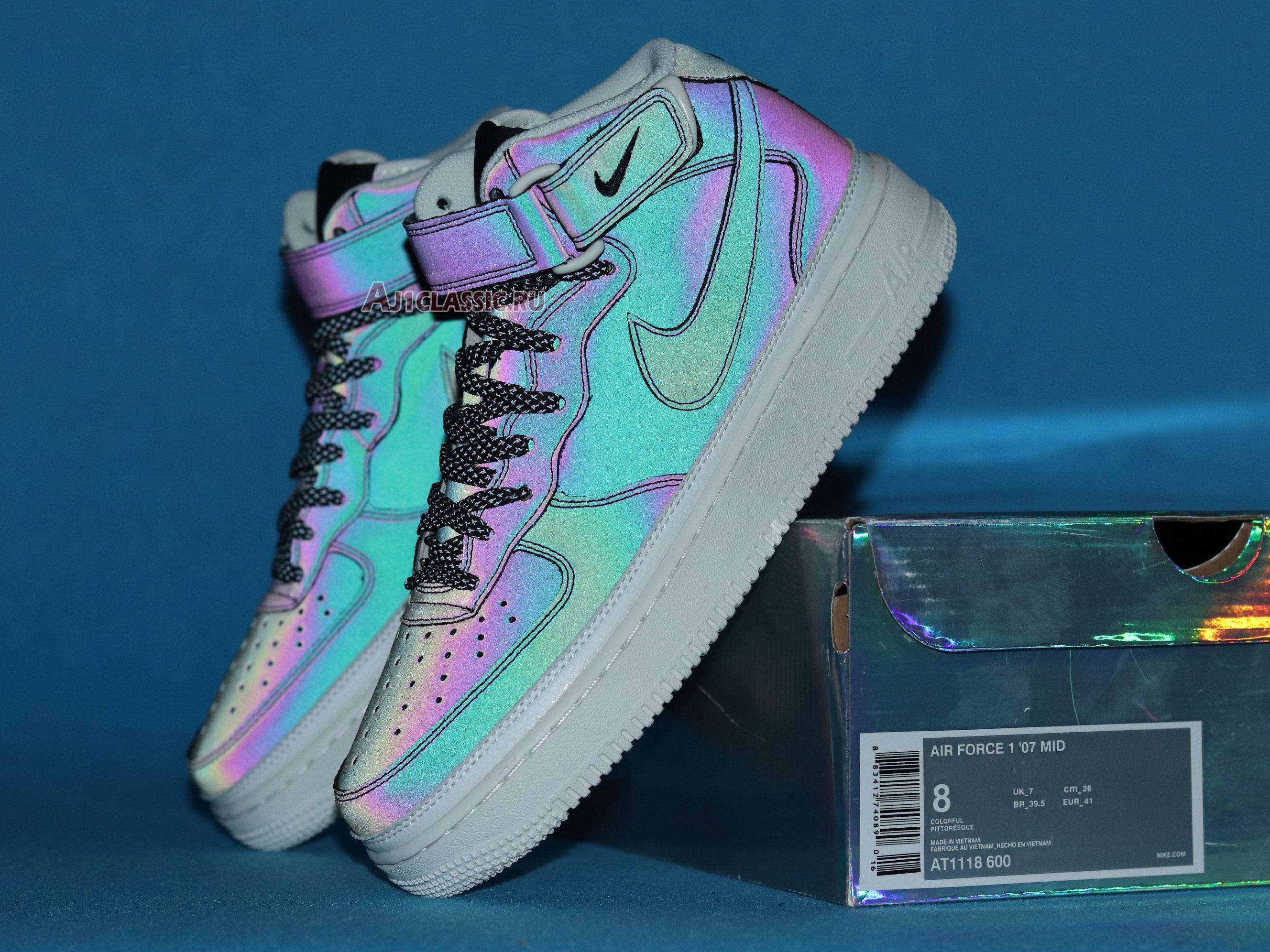 "Nike Air Force 1 High 07 Demon ""Chameleon"" AT1118-600"