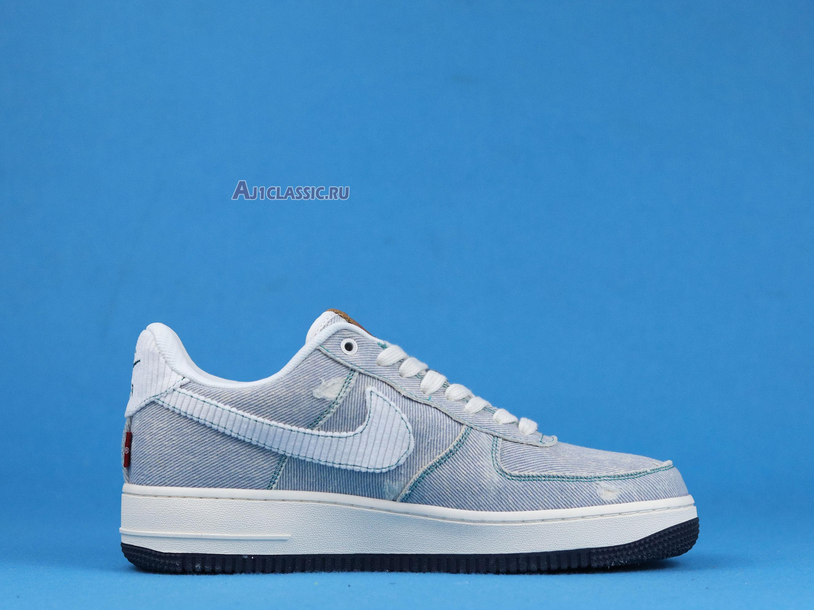 """Levis Denim Blue X Nike Air Force 1 Low """"Nike By You"""" CI5766-994"""