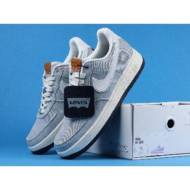 Levis Denim Blue X Nike Air Force 1 Low Nike By You CI5766-994 Denim Blue/White/Black Sneakers
