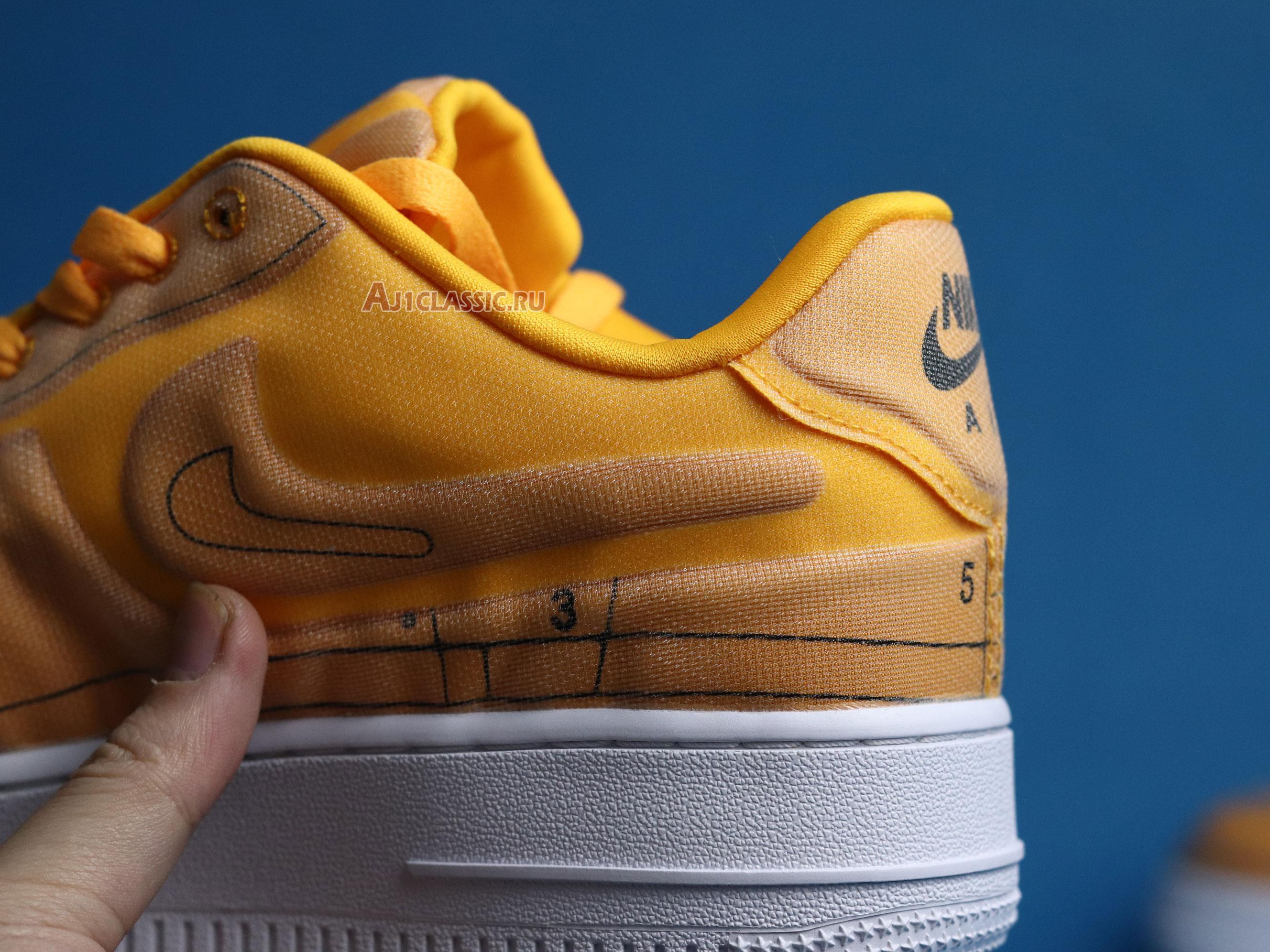 "Nike Wmns Air Force 1 07 Low LX ""Laser Orange"" CI3445-800"