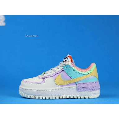 Nike Wmns Air Force 1 Low Shadow Pale Ivory CI0919-101 Pale Ivory/Celestial Gold/Tropical Twist Sneakers