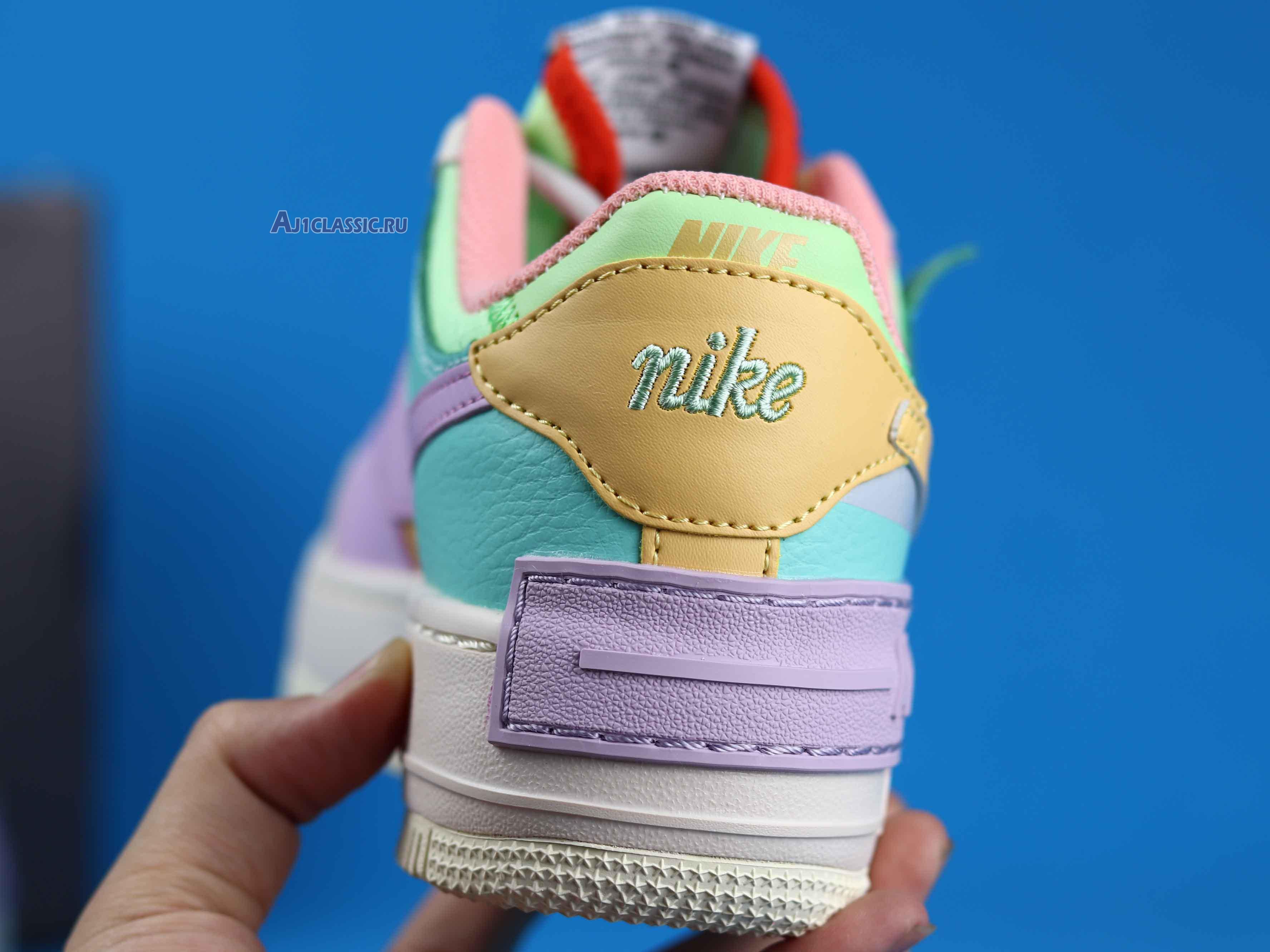 """Nike Wmns Air Force 1 Low Shadow """"Pale Ivory"""" CI0919-101"""