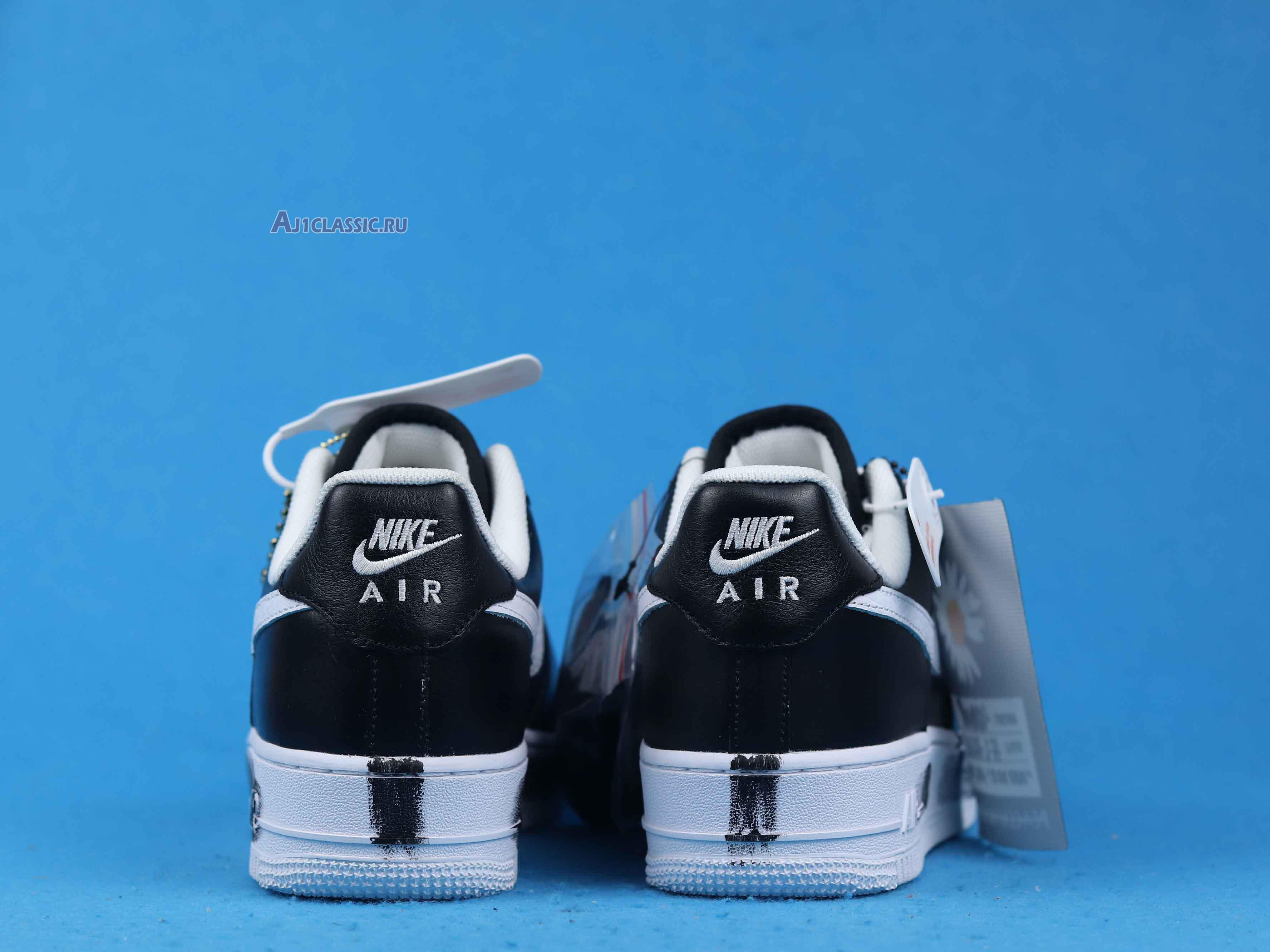 """G-Dragon x Nike Air Force 1 Low 07 """"Para-Noise"""" AQ3692-001"""