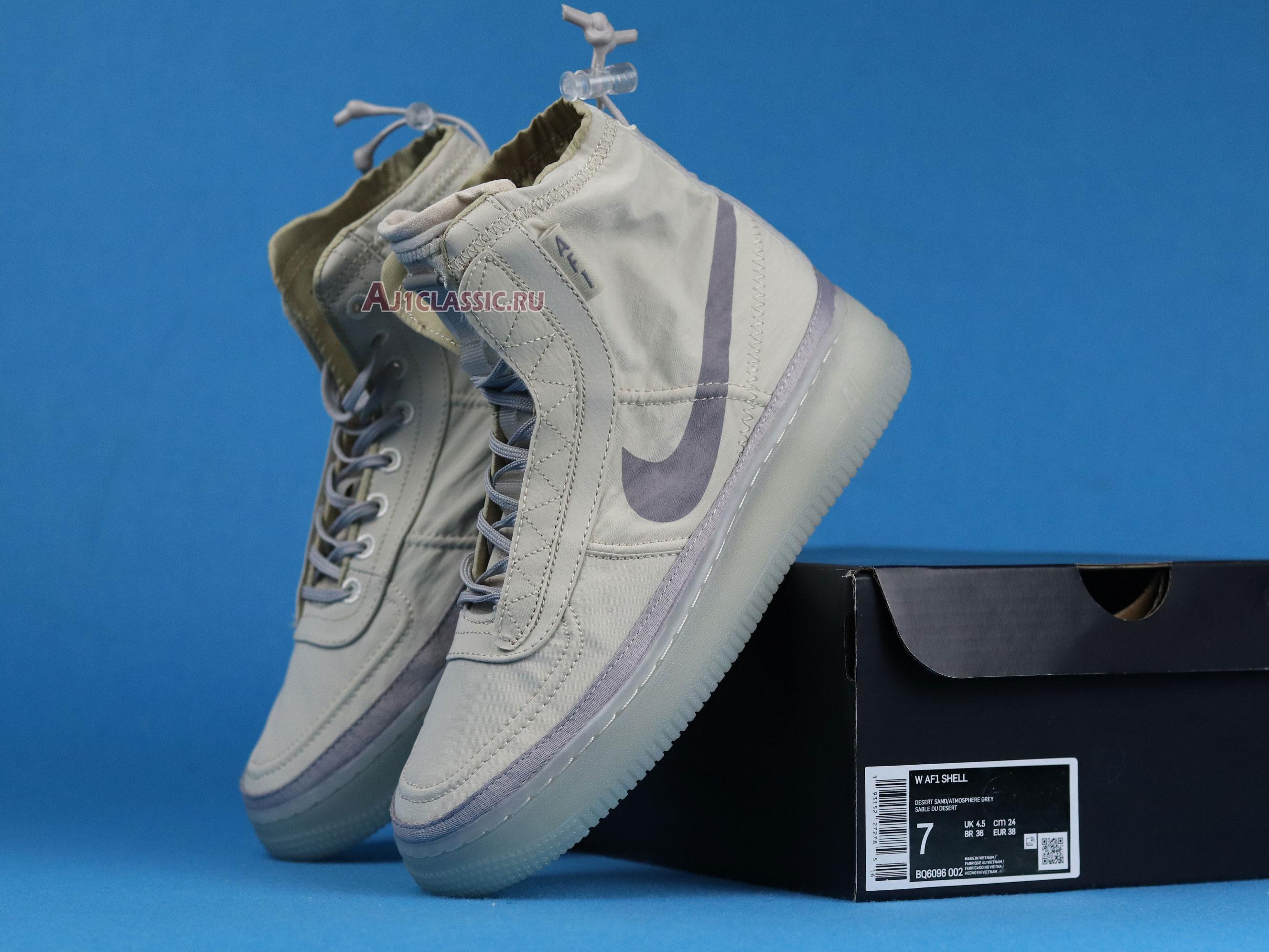 """Nike Air Force 1 High Wmns Shell """"Sail"""" BQ6096-002"""