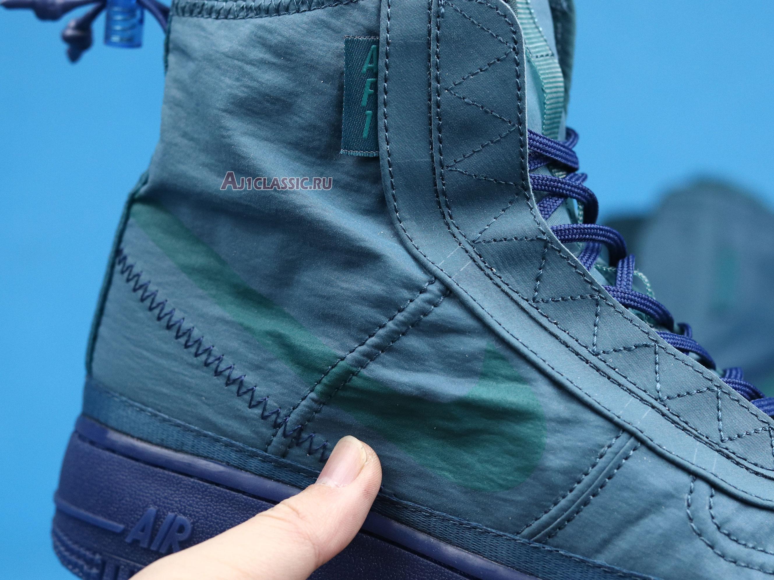 "Nike Air Force 1 High Wmns Shell ""Turqouise"" BQ6096-300"