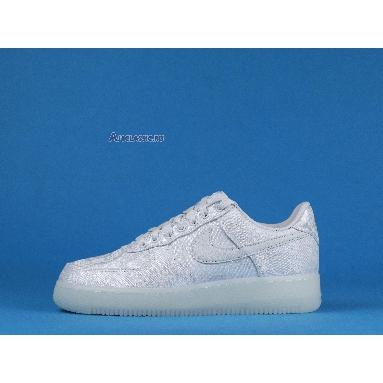CLOT x Nike Air Force 1 Low Premium CLOT AO9286-100 White/White-White Sneakers