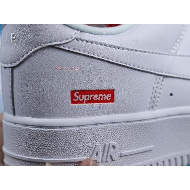 Supreme x Nike Air Force 1 Low Box Logo - White CU9225-100 White/White/Red Sneakers