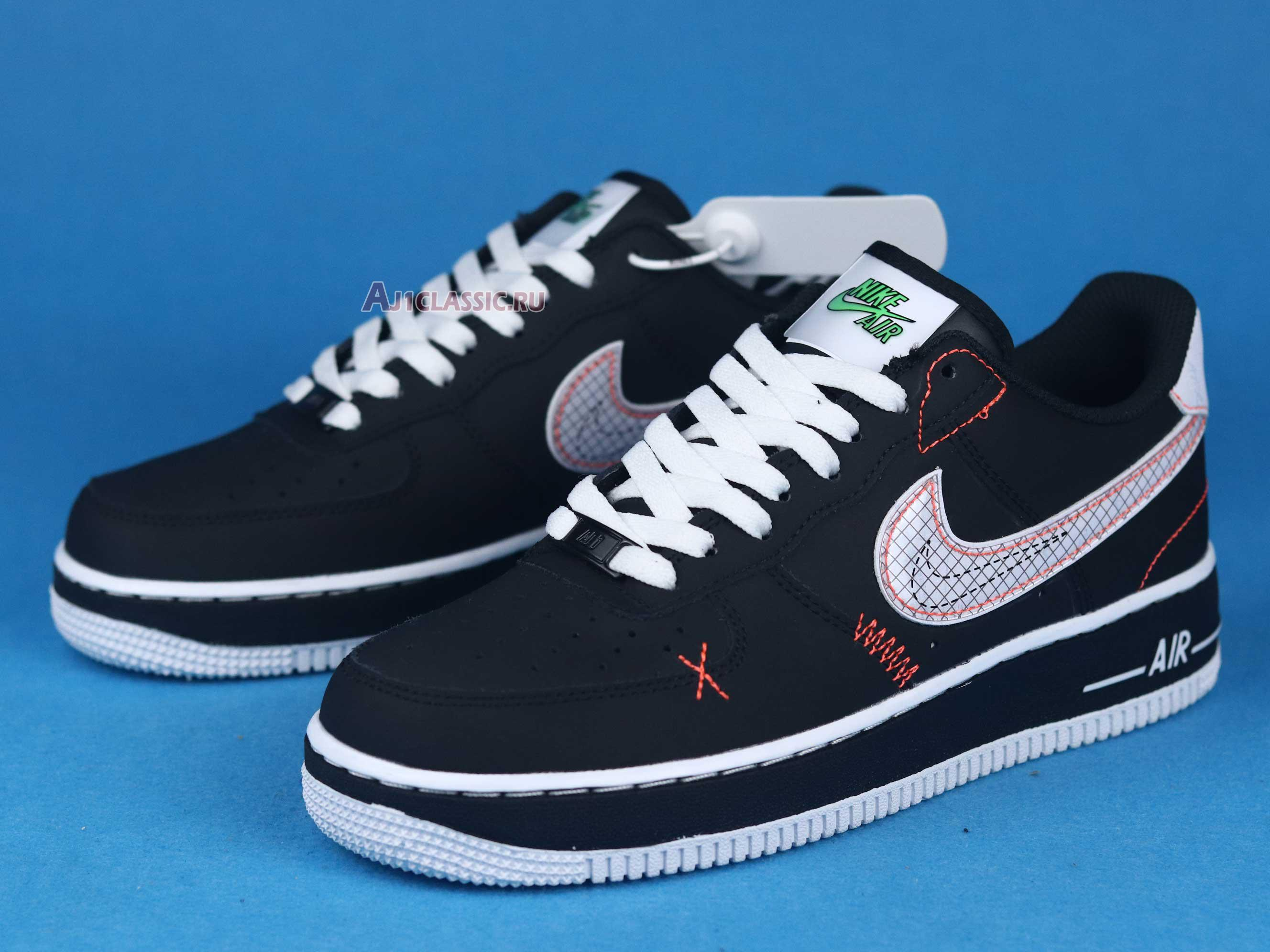 """Nike Air Force 1 Low 07 LV8 """"Exposed Stitching"""" CU6646-001"""