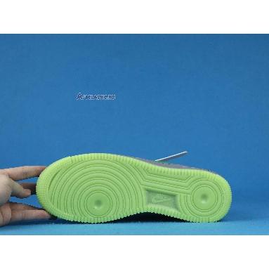 Nike Air Force 1 Low Volt Swoosh CD0888-002 Grey/Green Sneakers