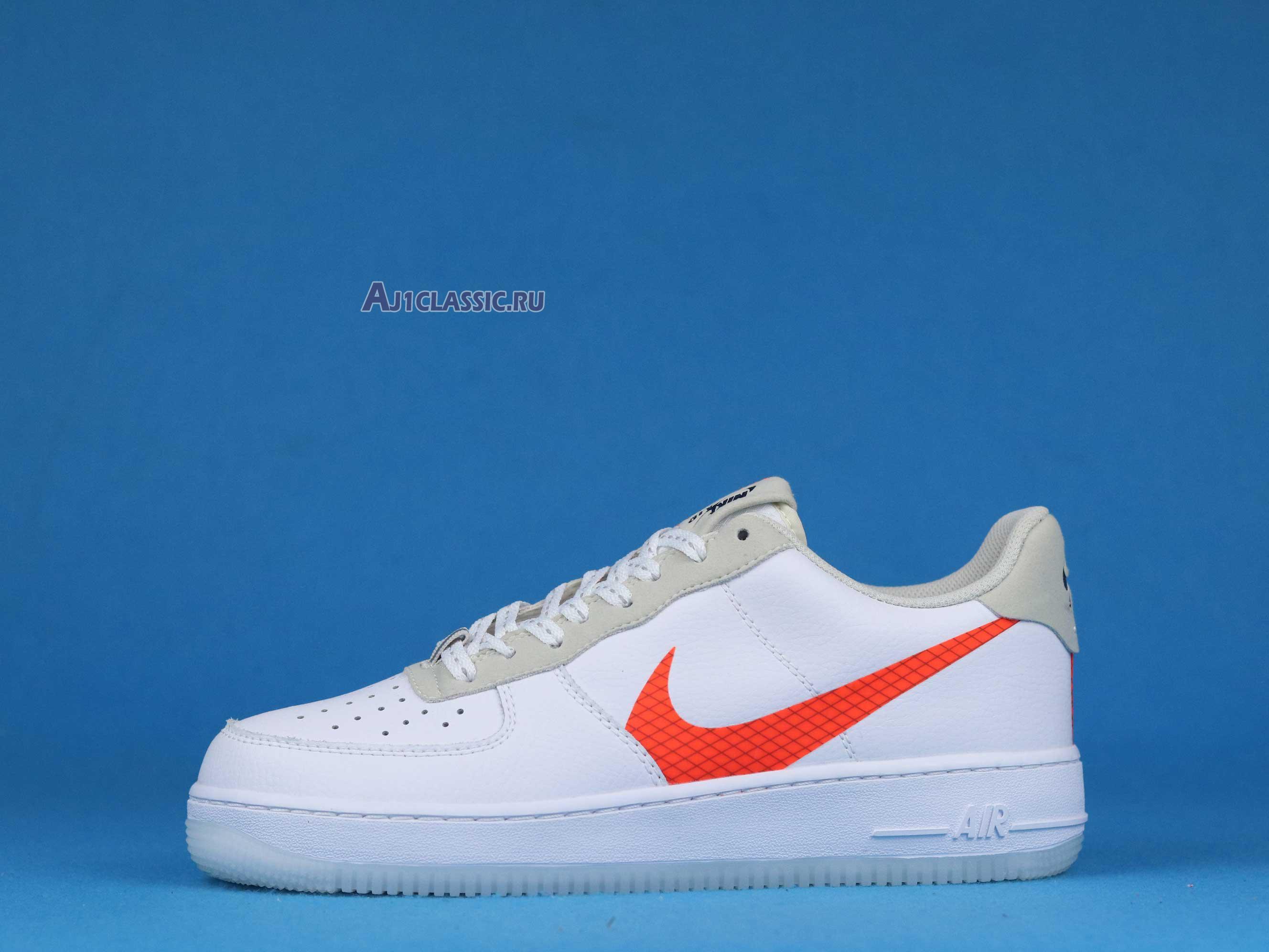 """Nike Air Force 1 Low """"Orange Swoosh"""" CD0888-100"""