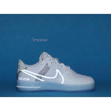 Nike Air Force 1 React QS White Ice CQ8879-100 White/Light Bone/Sail/Rush Coral Sneakers