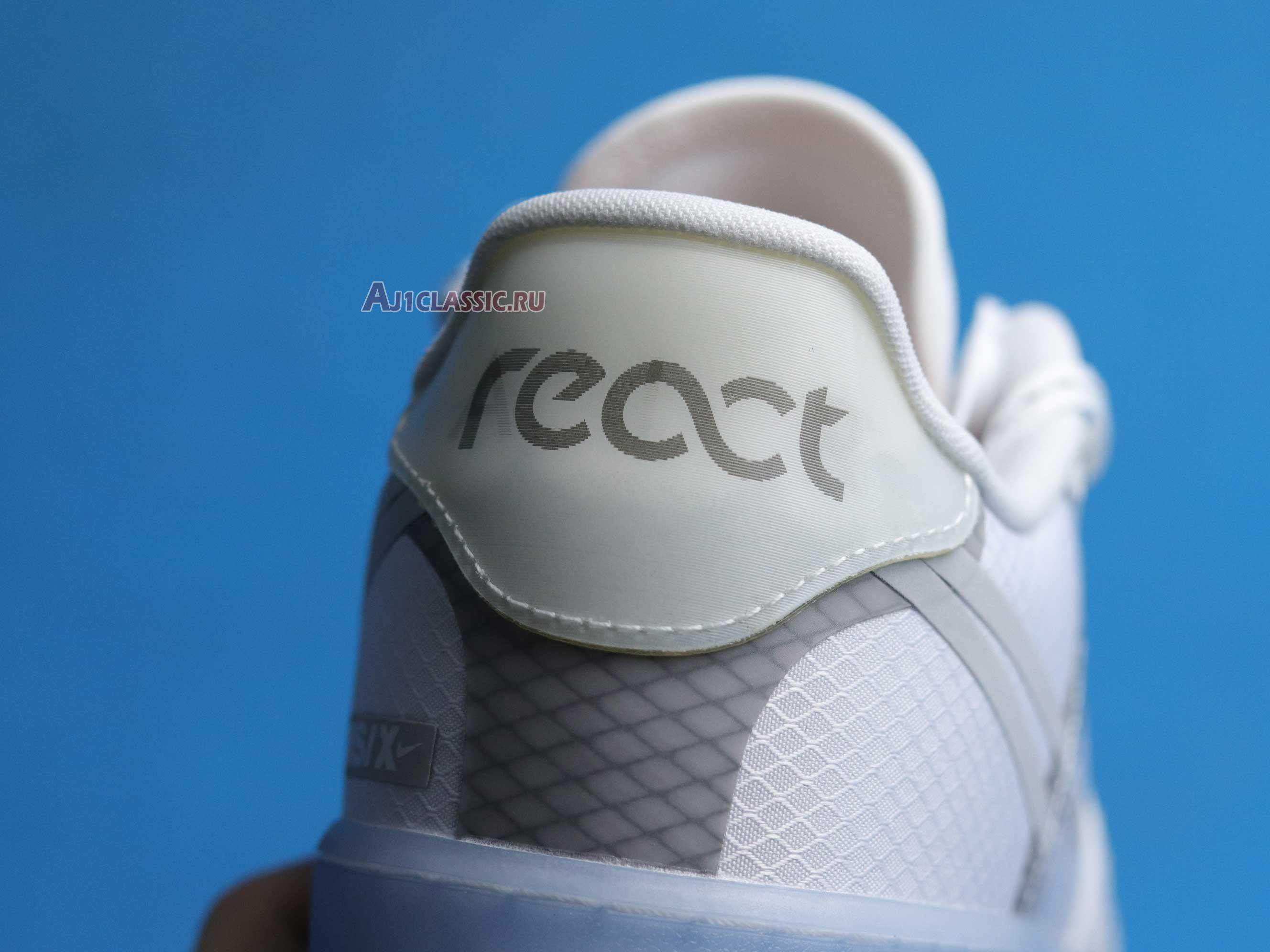 """Nike Air Force 1 React QS """"White Ice"""" CQ8879-100"""