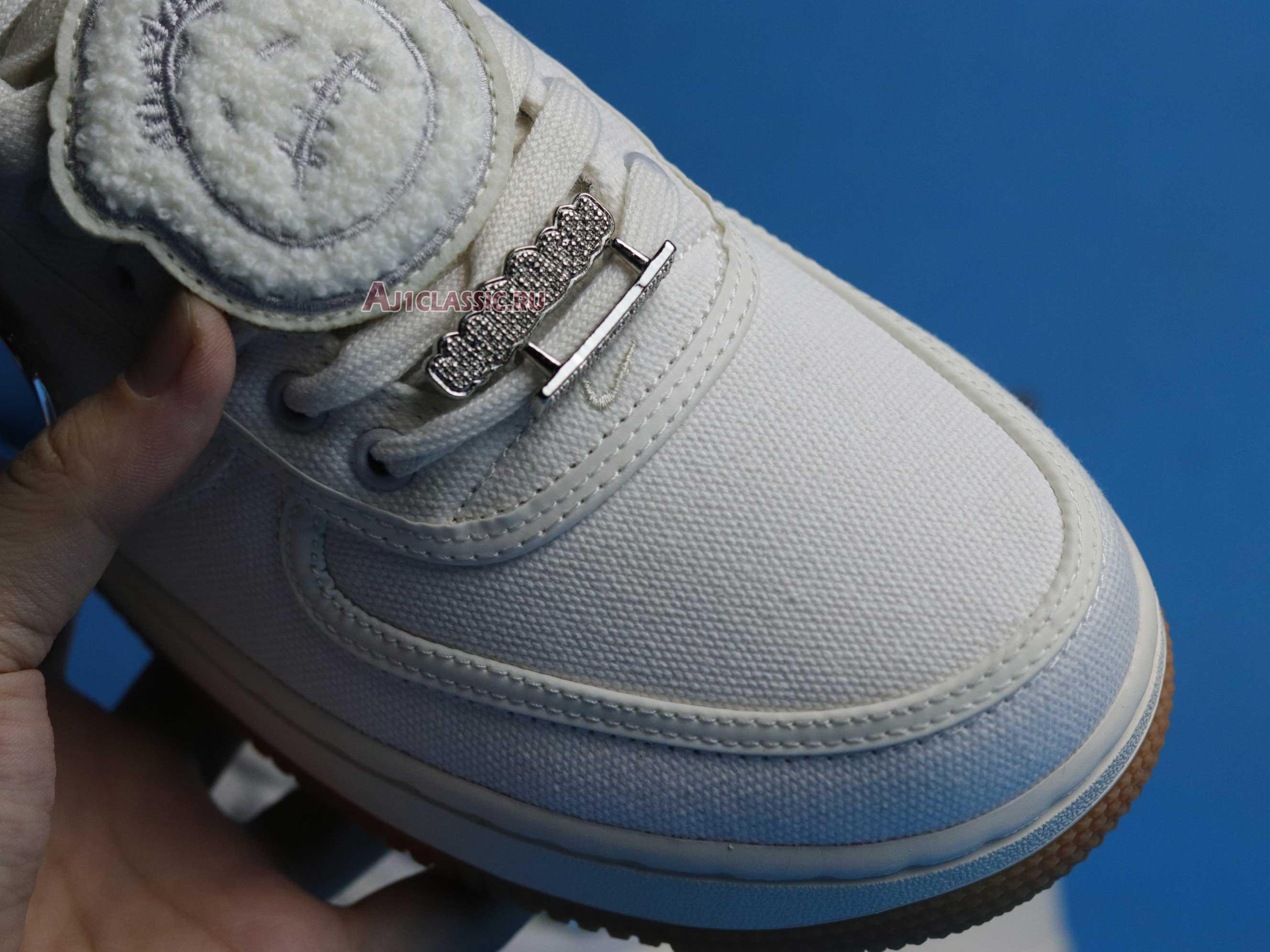 """Travis Scott x Nike Air Force 1 """"Sail"""" AQ4211-101"""