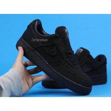 Stussy x Nike Air Force 1 Low Triple Black CZ9084-001 Black/Black/Black Sneakers