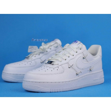 Nike Wmns Air Force 1 07 LX Sisterhood - White Metallic Silver CT1990-100 White/Hyper Royal/Black/White Sneakers