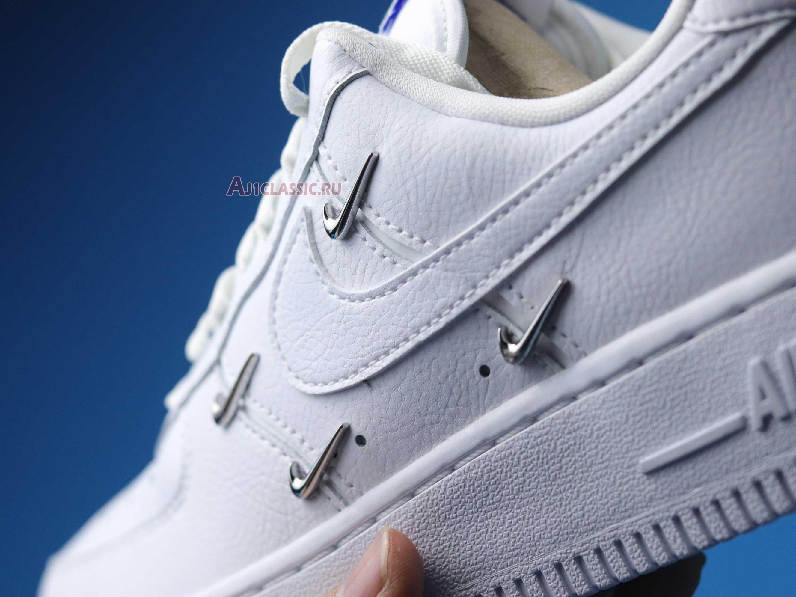 "Nike Wmns Air Force 1 07 LX ""Sisterhood - White Metallic Silver"" CT1990-100"