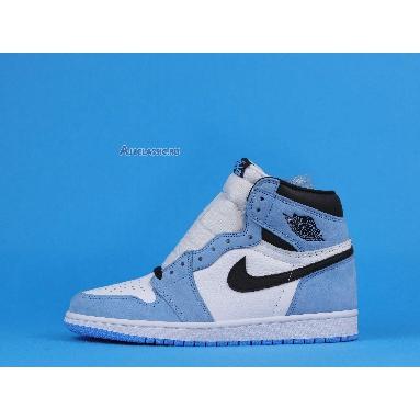 Air Jordan 1 Retro High OG University Blue 555088-134 White/University Blue/Black Sneakers