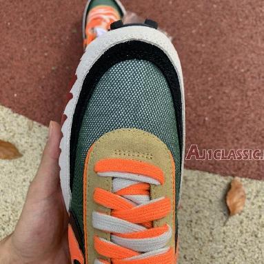 Sacai x Nike LDWaffle Shark BV0073-081 Orange Red/Grass Green//Black/White Sneakers