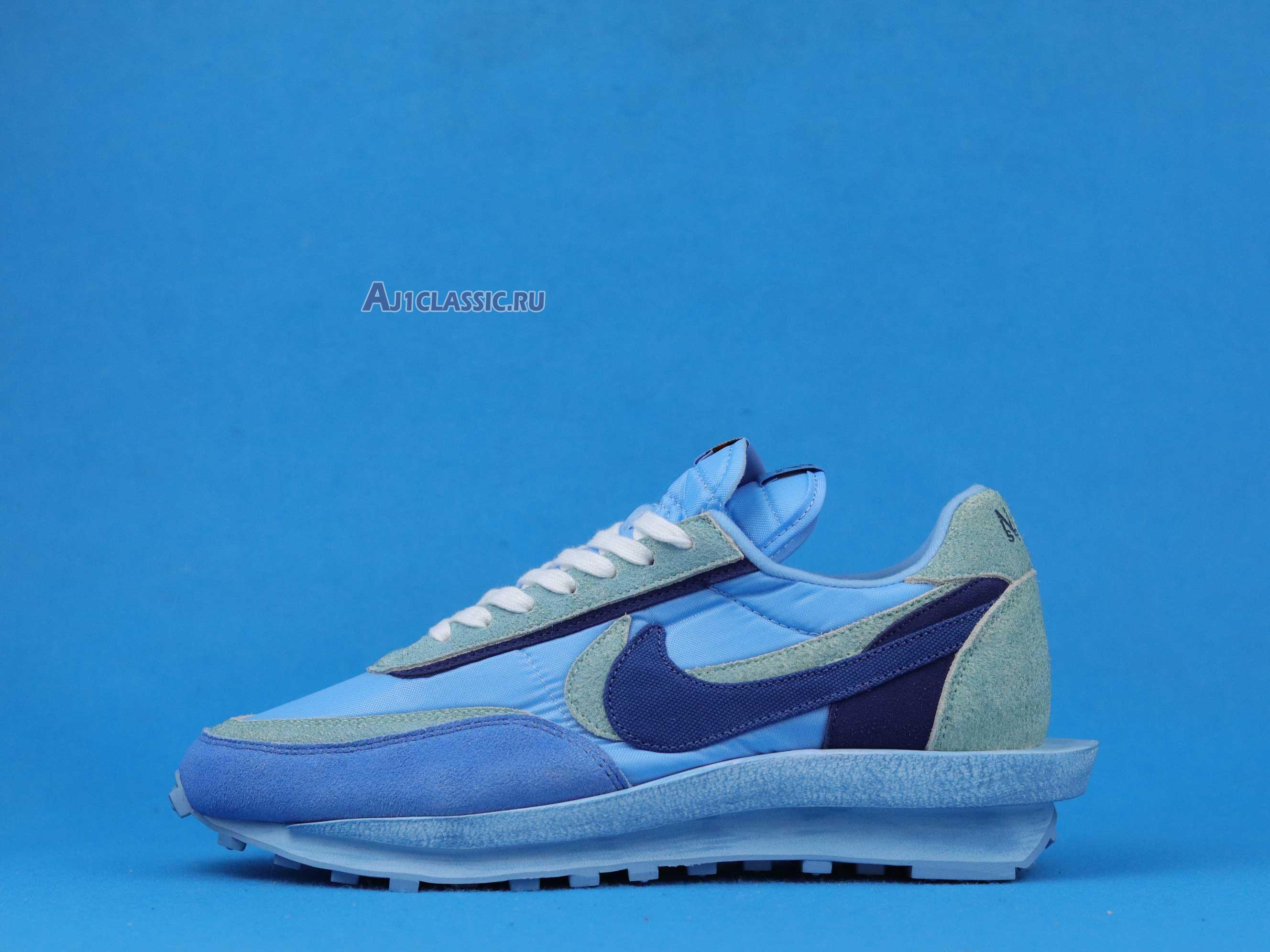 "Sacai X Nike LVD WAFFLE X Fragment Design ""Blue"" BV0073-401"