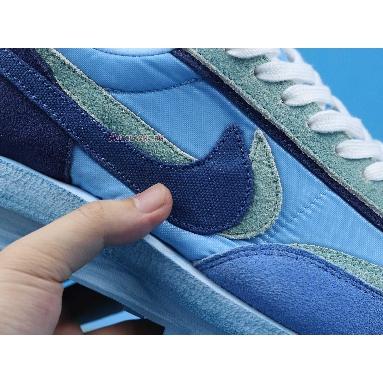 Sacai X Nike LVD WAFFLE X Fragment Design Blue BV0073-401 Blue/Blue/Green/White Sneakers