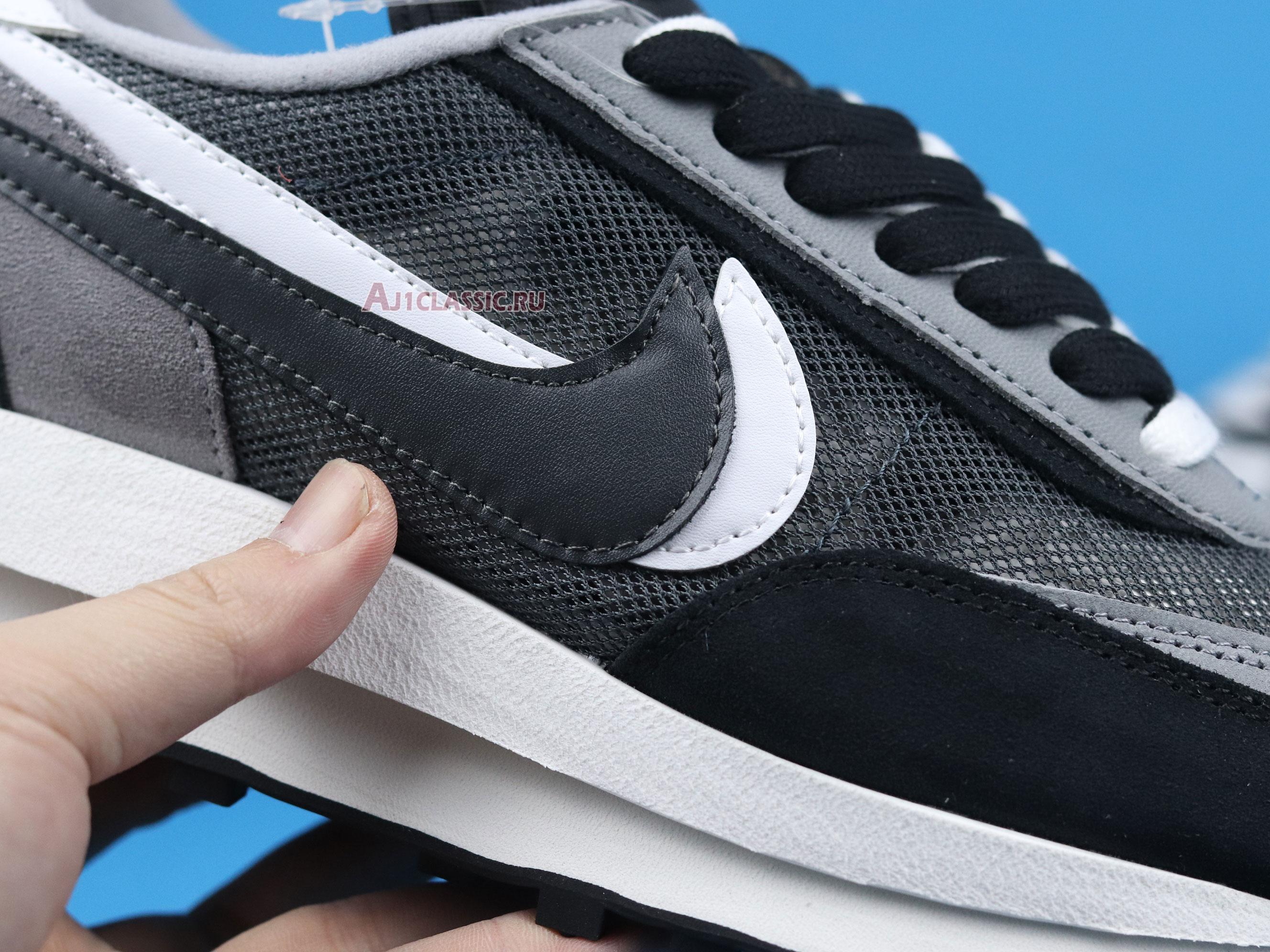 "Sacai x Nike LDWaffle ""Black"" BV0073-001"