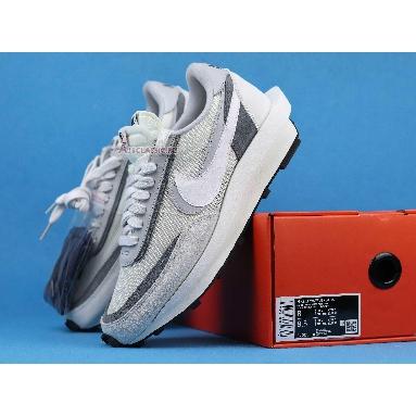 Sacai x Nike LDWaffle Summit White BV0073-100 Summit White/White-Wolf Grey-Black Sneakers