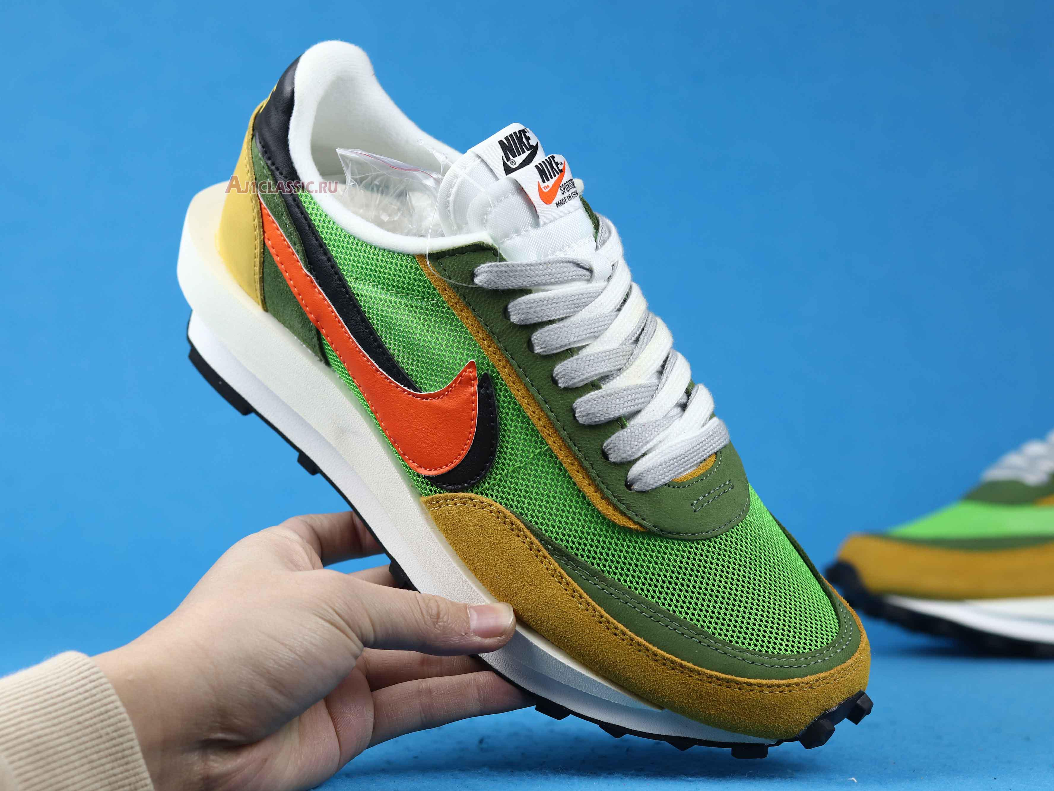 "Sacai x Nike LDWaffle ""Green Gusto"" BV0073-300"