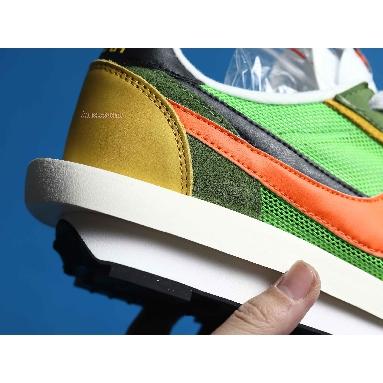 Sacai x Nike LDWaffle Green Gusto BV0073-300 Green Gusto/Black-Varsity Maize-Safety Orange Sneakers