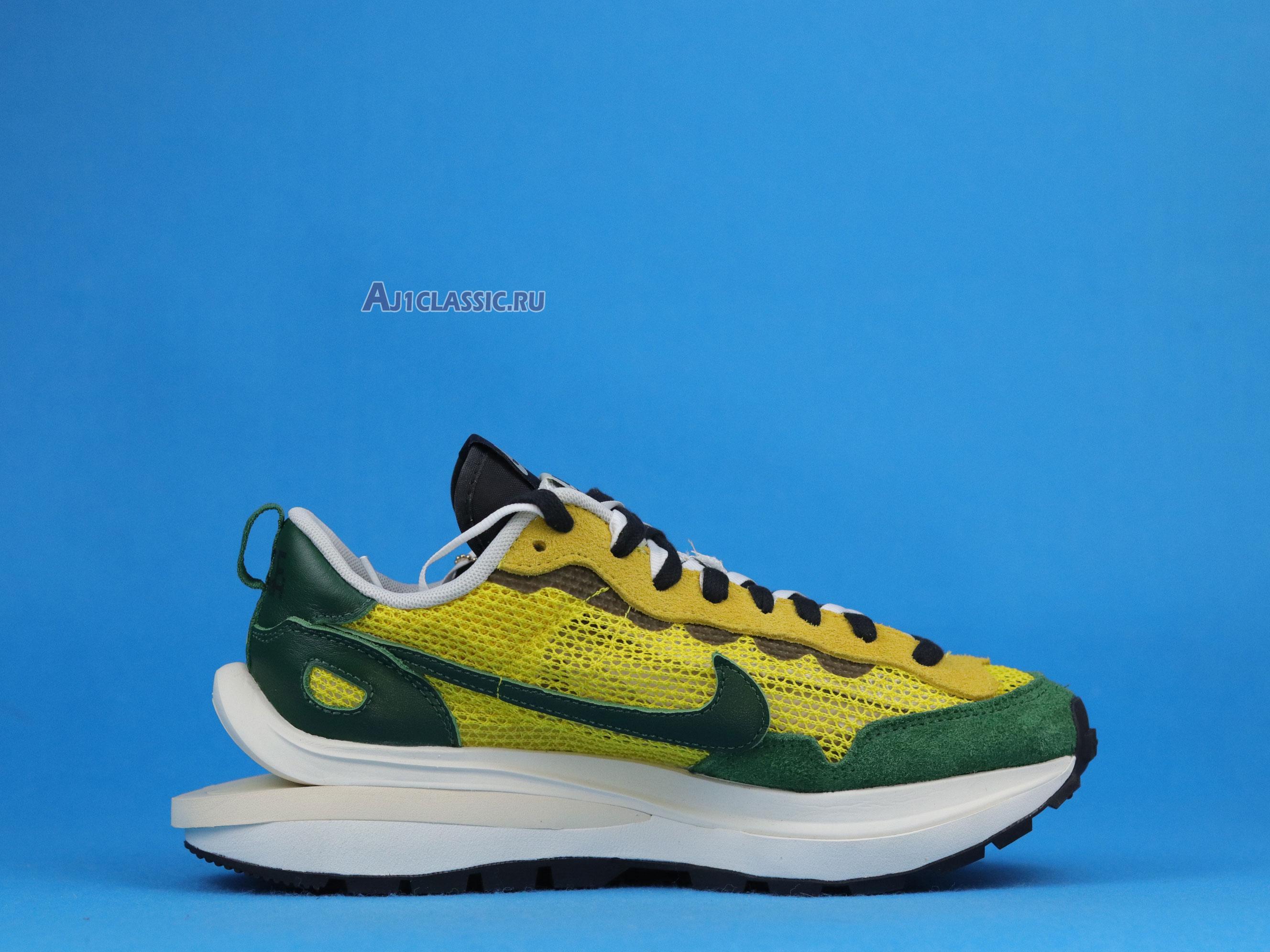"""Sacai x Nike VaporWaffle """"Tour Yellow"""" CV1363-700"""