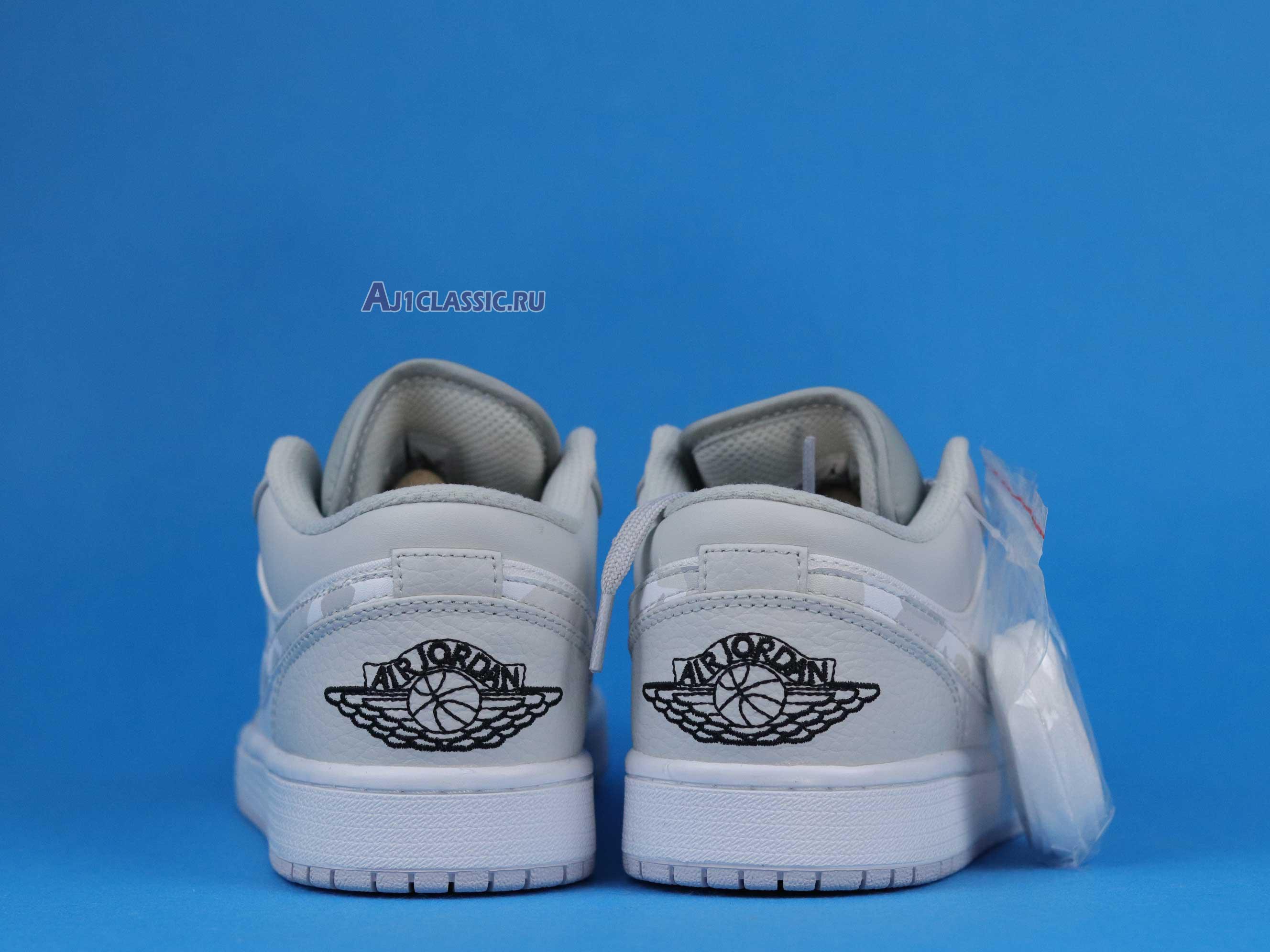 "Air Jordan 1 Low ""White Camo"" DC9036-100"