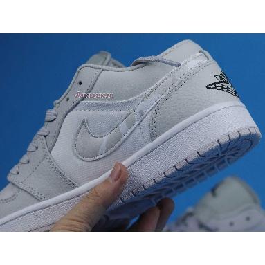 Air Jordan 1 Low White Camo DC9036-100 White/Photon Dust/Grey Fog Sneakers