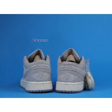 Air Jordan 1 Low Atmosphere Grey AH7389-102 Pale Ivory/Atmosphere Grey-Pale Ivory Sneakers