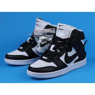 AMBUSH x Nike Dunk High Black CU7544-001 White/Black/Spruce Aura Sneakers