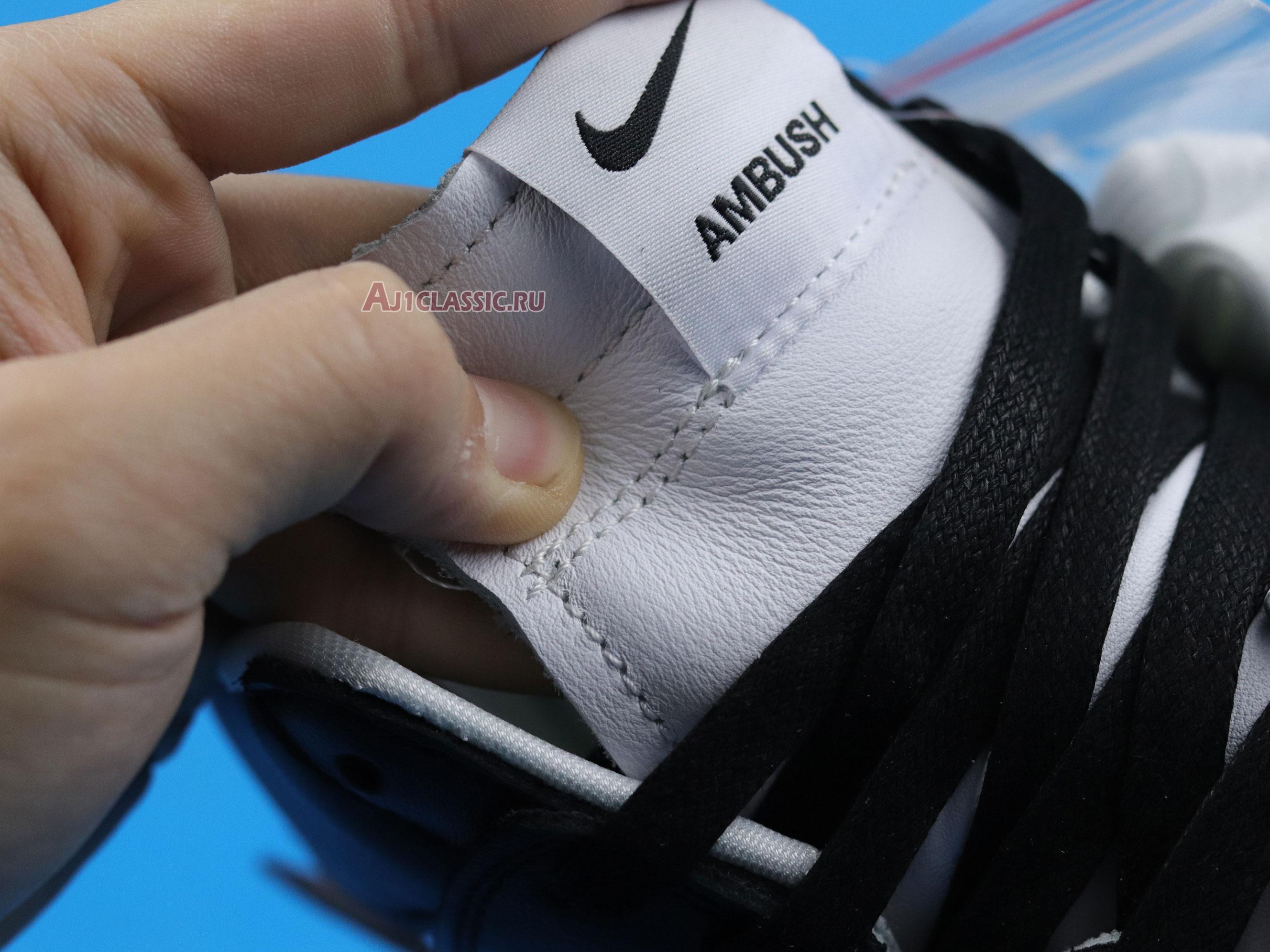 "AMBUSH x Nike Dunk High ""Black"" CU7544-001"