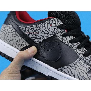 Supreme x Nike Dunk Low Pro SB Black Cement 304292-131 Black/Black-Cement Grey Sneakers