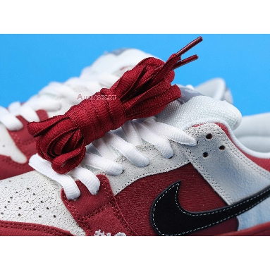 Nike Dunk Low Premium SB Roller Derby 313170-601 Varsity Red/Black-White-Wolf Grey Sneakers