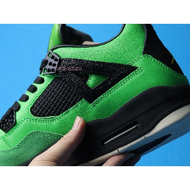 Air Jordan 4 Retro Manila AJ4-965234 Green Giant Black/Black-Sail Sneakers