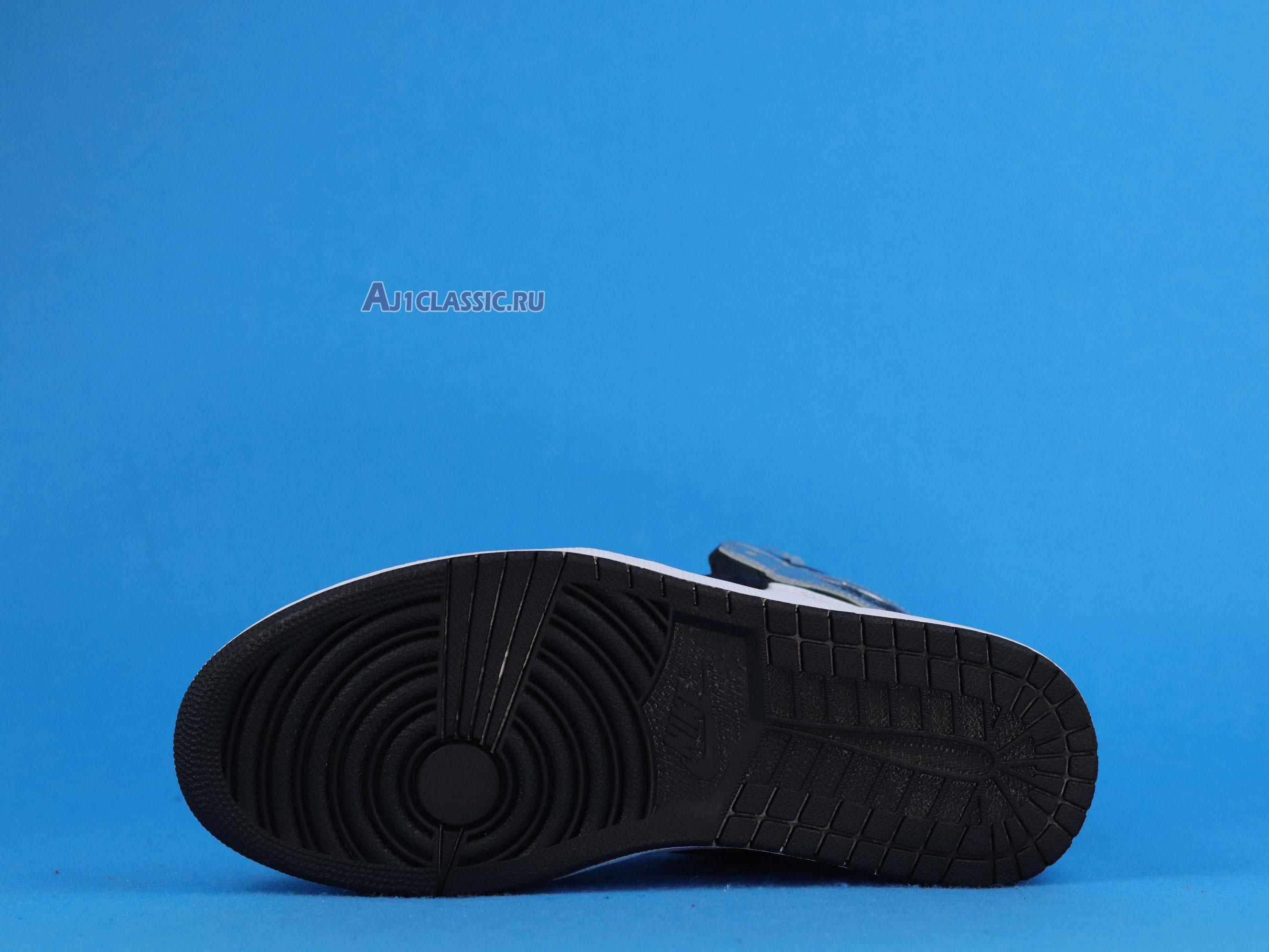 "Air Jordan 1 Retro High OG ""Silver Toe"" CD0461-001"