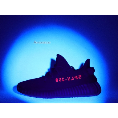 Adidas Yeezy Boost 350 V2 Bred CP9652 Core Black/Core Black/Red Sneakers