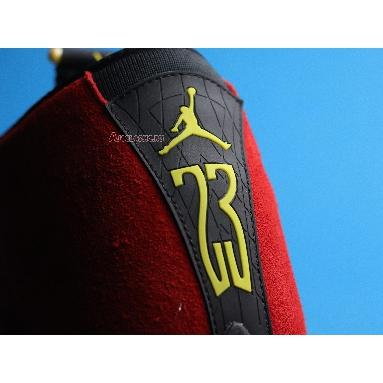 Air Jordan 14 Retro Ferrari 654459-670 Challenge Red/Black/Vibrant Yellow/Anthracite Sneakers