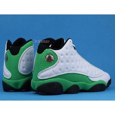 Air Jordan 13 Retro Lucky Green DB6537-113 White/Black/Lucky Green Sneakers