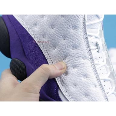 Air Jordan 13 Retro Lakers 414571-105 White/Black/Court Purple/University Gold Sneakers