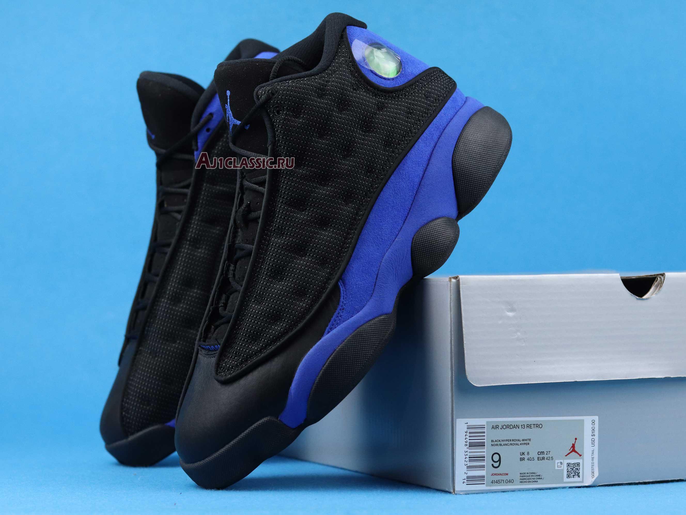 "Air Jordan 13 Retro ""Black Royal"" 414571-040"