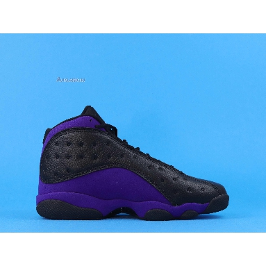 Air Jordan 13 Retro Court Purple DJ5982-015 Black/White-Court Purple Sneakers