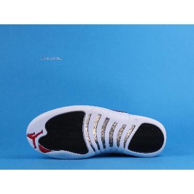 Air Jordan 12 Retro Twist CT8013-106 White/University Red-Black Sneakers