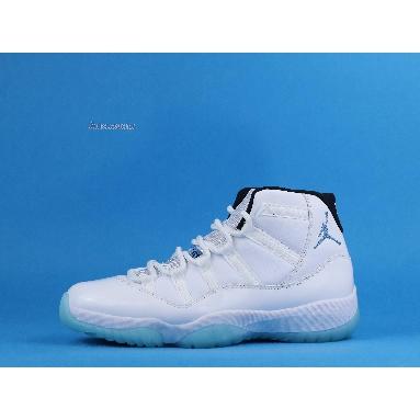 Air Jordan 11 Retro Legend Blue 2014 378037-117 White/Legend Blue Sneakers