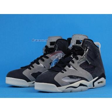 Air Jordan 6 Retro Tech Chrome CK6635-001 Black/Light Smoke Grey/Sail/Chrome Sneakers