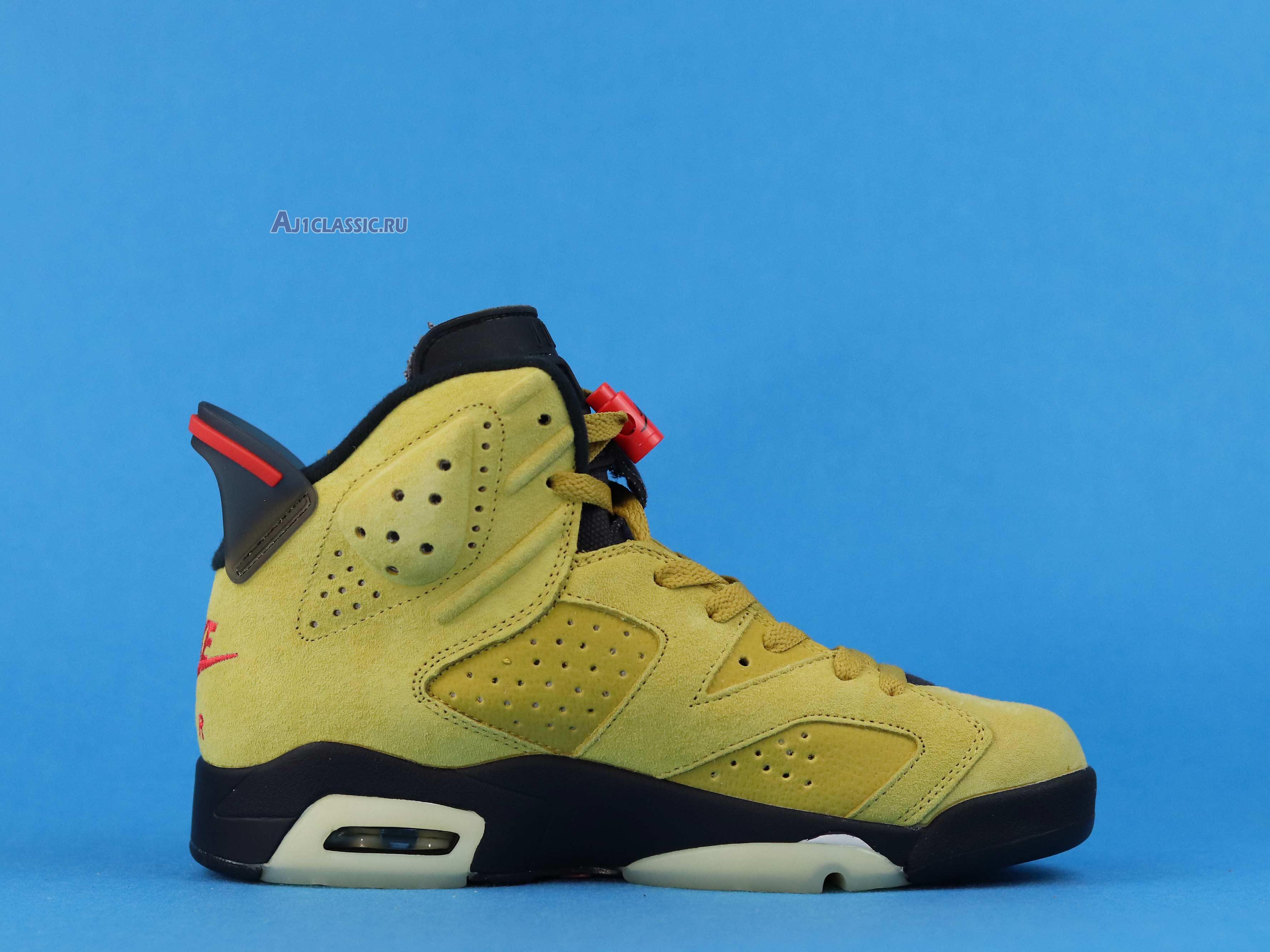 "Travis Scott x Air Jordan 6 ""Yellow"" CN1084-300"