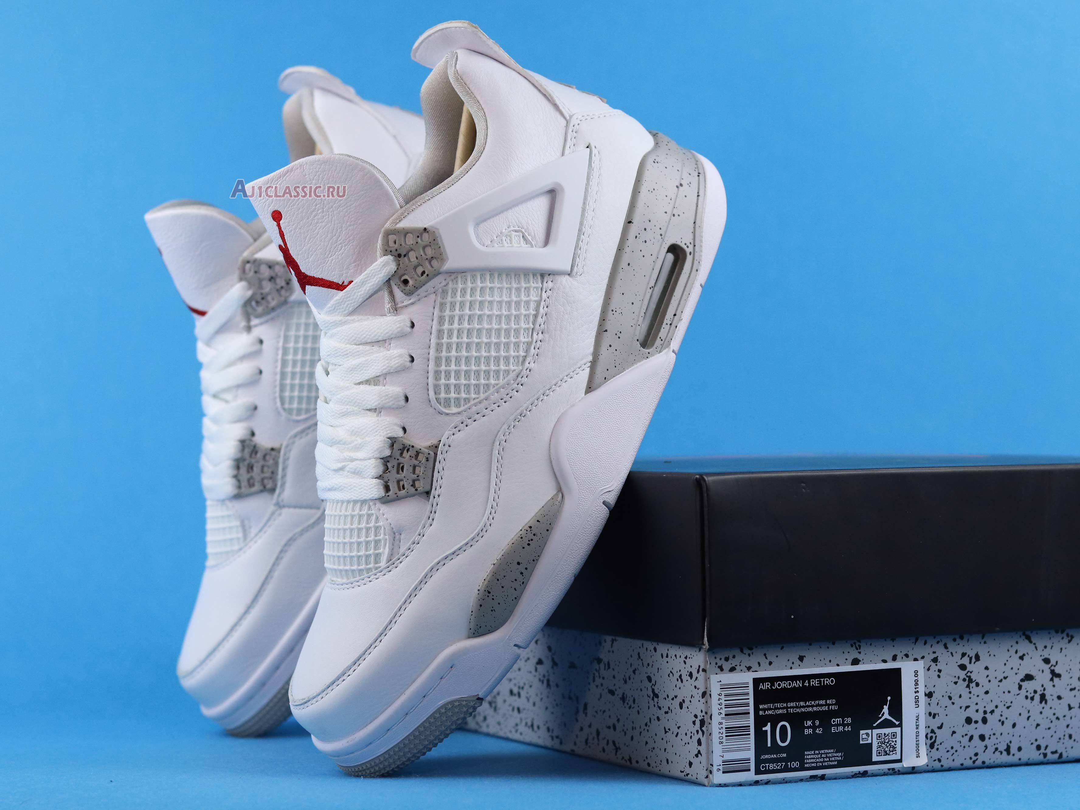 "Air Jordan 4 Retro ""White Oreo"" CT8527-100"