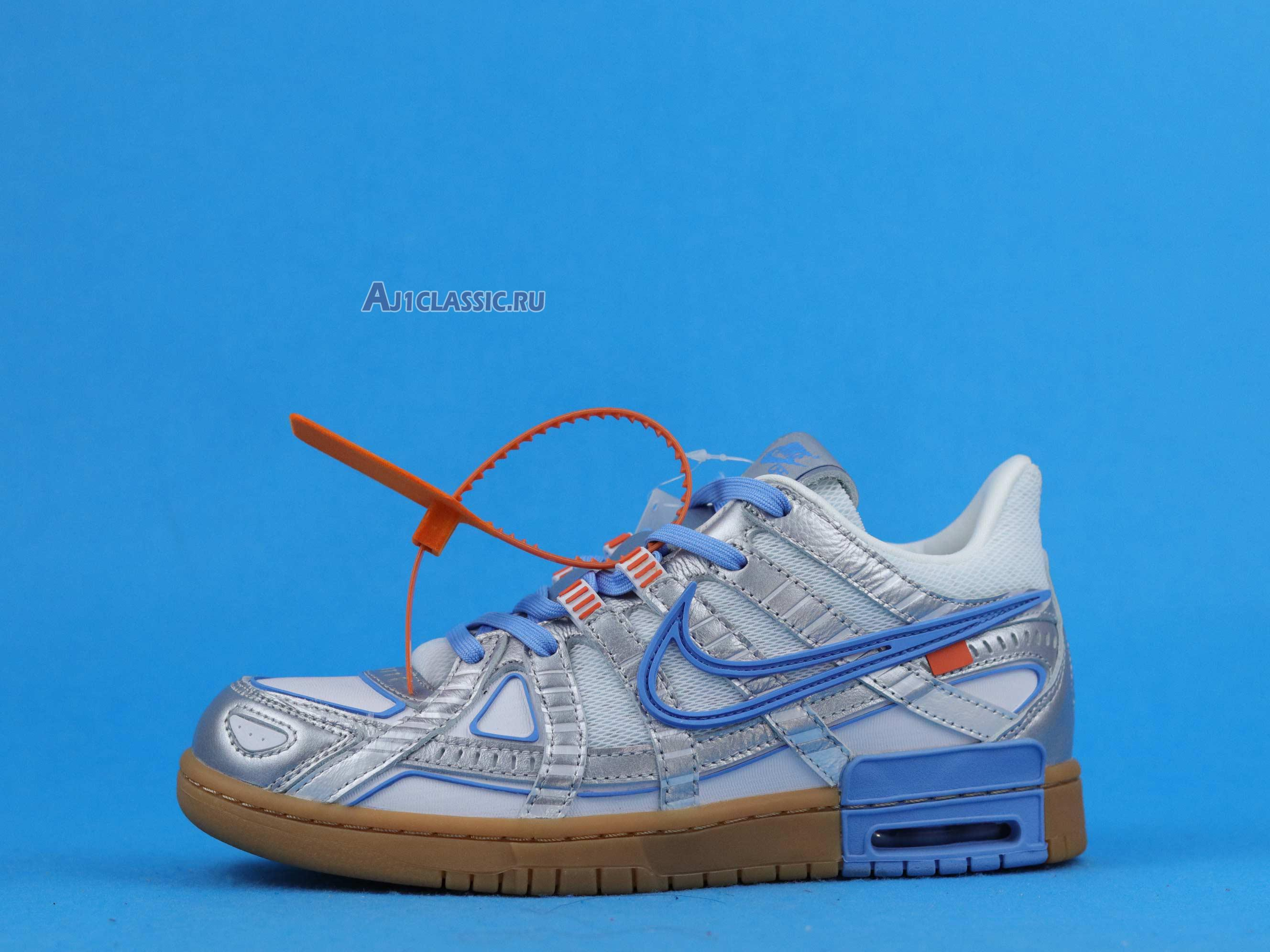 "Off-White x Air Rubber Nike Dunk ""University Blue"" CU6015-100"